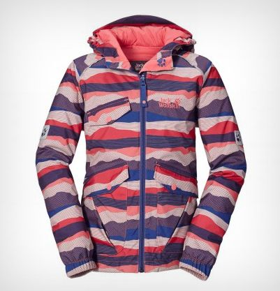 Jack Wolfskin - Kids Mountain Range Jacket fra Outnorth. Om denne nettbutikken: http://nettbutikknytt.no/outnorth-no/