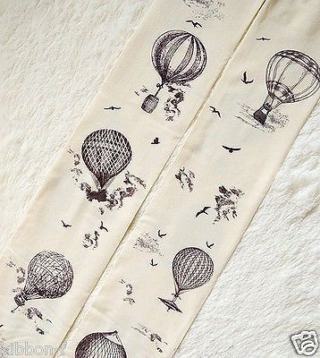Hot Air Balloon vintage retro adventure pantyhose chic tattoo tights harajuku