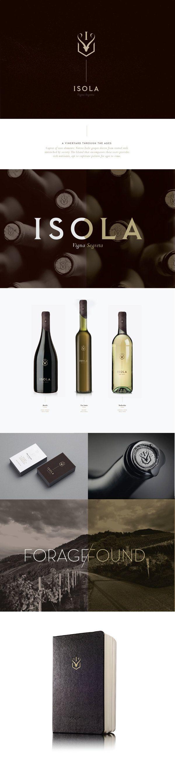 identity / Isola wine