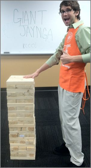 Building a Giant Jenga Game - Got Questions? Get Answers!
