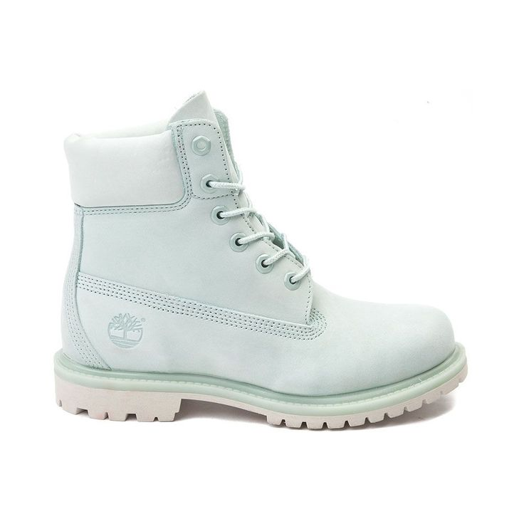 TIMBERLAND SALE Women's 6 inch Premium Waterproof Boot Boots Mint Green 9 M #Timberland #Booties