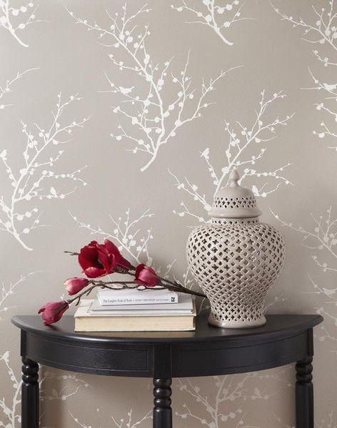 temporary wallpaper! stick it on - peel it off genius!