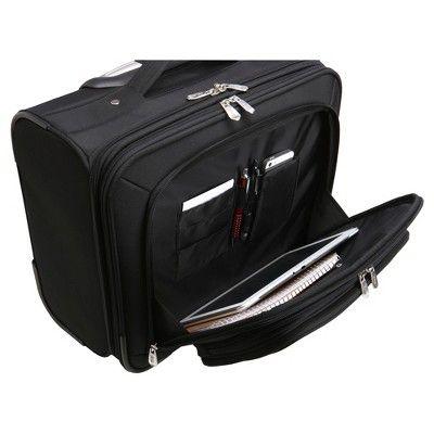 NBA Charlotte HornetsMojo Wheeled Laptop Overnighter Bag, Charlotte Hornets