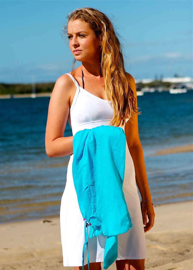"Marielle 'Slip Dress"" by Spirituelle at the beach great under kaftans, resort wear and all things sheer! www.spirituelle.com.au"