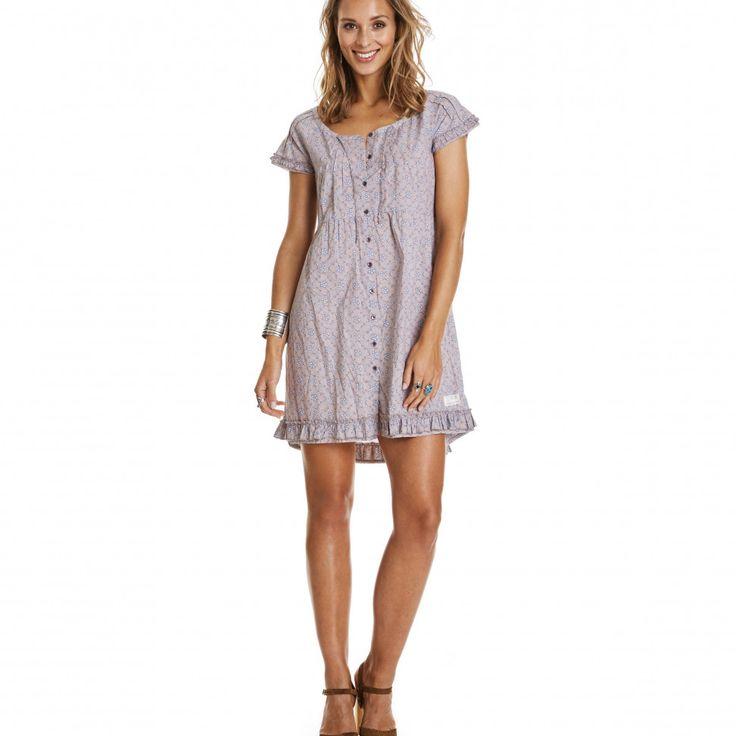 amplify dress DUSTY MAUVE