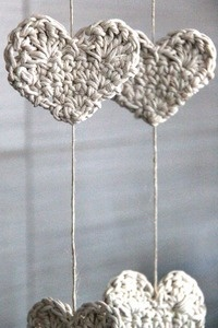 Heart Strings Mobile by Crayon Chick <3