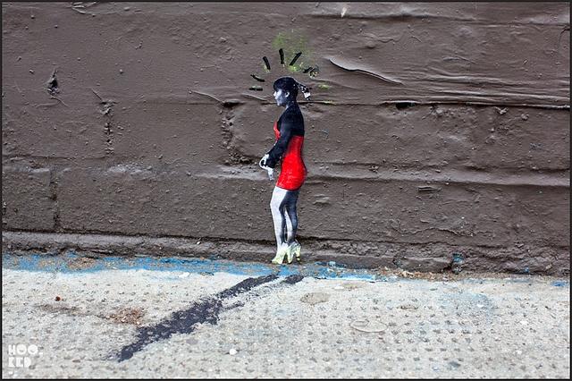 Pablo Delgado by Hookedblog, via Flickr  #streetart #delgado