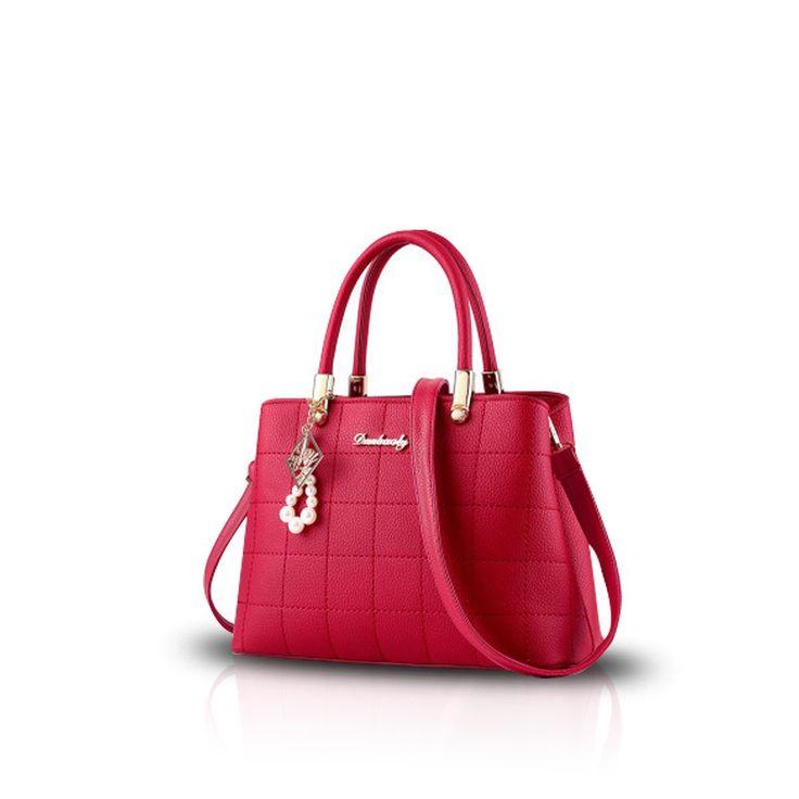 Amazon   NICOLE&DORIS 新しい女性/レディースファッションハンドバッグメッセンジャークロスボディショルダー財布トートカジュアルワークバッグ ピンク   ハンドバッグ