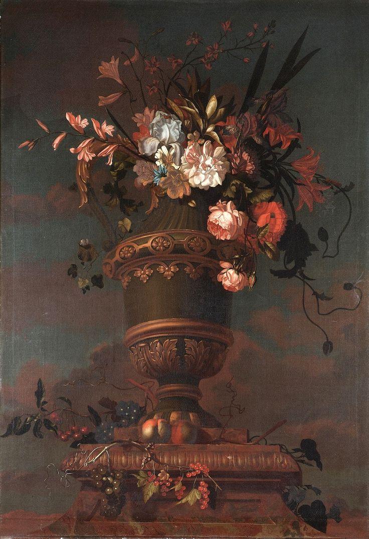 Якоб Богдани (Jakob Bogdany), 1660-1724. Венгрия - Великолепные цветы и птицы | Изобразительное искусство