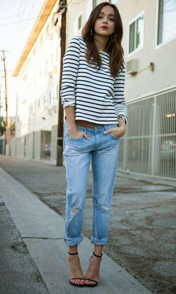 Look Básico: Jeans & Listras