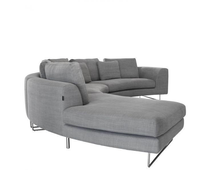 Cosmo Corner Unit Left Washed Grey - Furniture | Weylandts South Africa