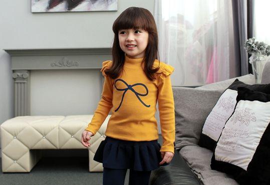 Korea children's No.1 Shopping Mall. EASY & LOVELY STYLE [COOKIE HOUSE] #cute #koreakids #kids #kidsfashion #adorable #COOKIEHOUSE #OOTD #top #T TEE #T_shirt #tshirt #ribbon #dailyfashion #dailylook