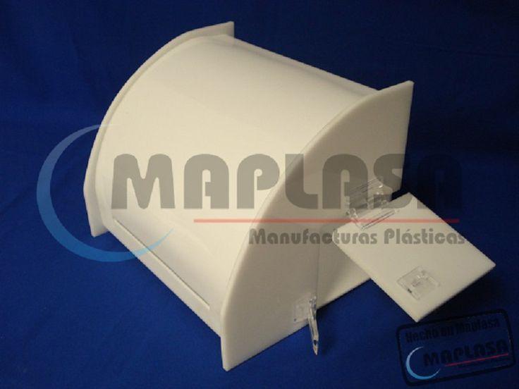 Buzones de Sugerencias de Acrílico de Color Blanco http://maplasa.com/productos/buzon-sugerencias/Venta-de-Buzones-de-Sugerencias-en-Chihuahua.php