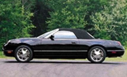 2002 thunderbird | 2002 Ford Thunderbird - First Drive Review - Car Reviews - Car and ...