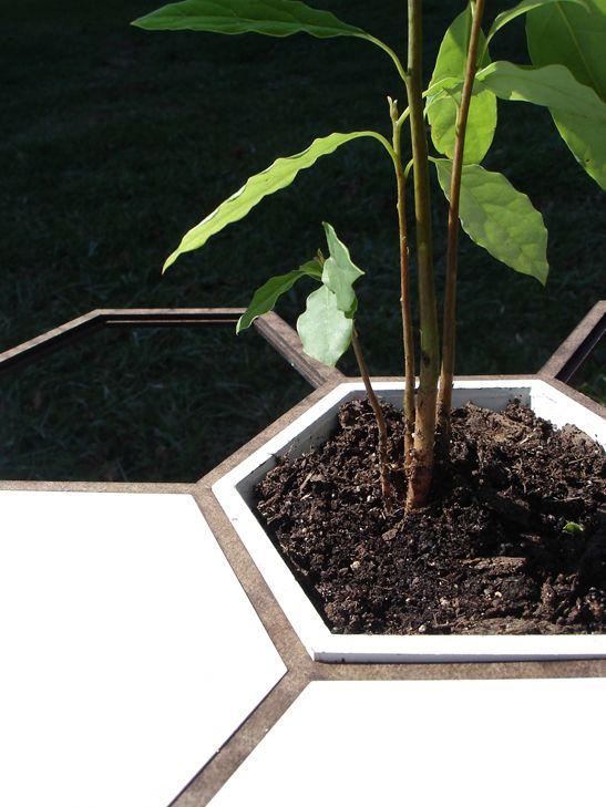 Honeycomb Gardening System | STUDIOTJOA | Archinect