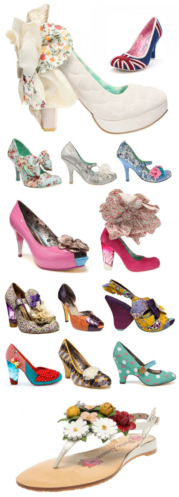 Irregular-Choice, some are amazing, some are nuts, some are too much. Wonder if they are also comfortable.