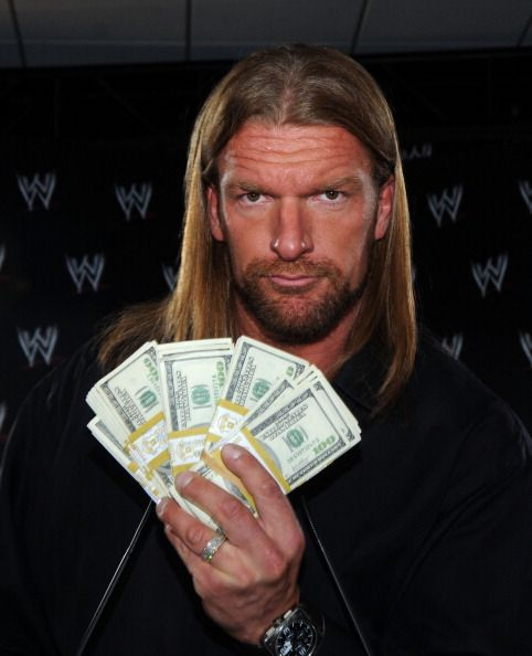 Professional wrestler and actor Triple H at the $1 Million Mania press conference on June 3 2008 at the Staples Center in Los Angeles California
