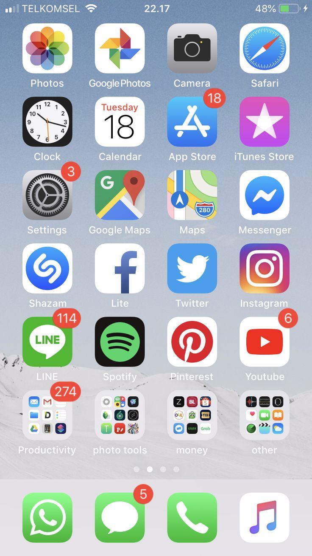 My iphone 6s setup calendar app iphone life iphone screen