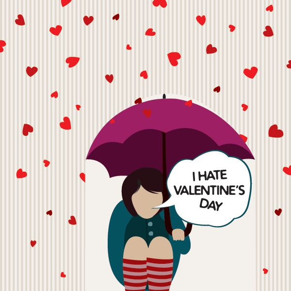 Dear Valentine: I hate you! | Living Vicariously
