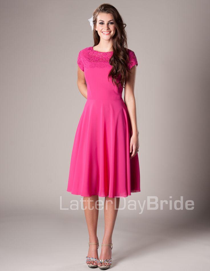1000  images about Modest Bridesmaid Dresses on Pinterest | Brides ...