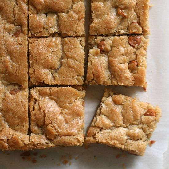 Of all the blondies recipes out there, this is my favorite!  Learn how to make blondies with this simple one-bowl method.