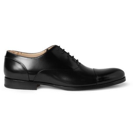 Mr. Hare Miller High-Shine Leather Oxford Shoes | MR PORTER £577.91