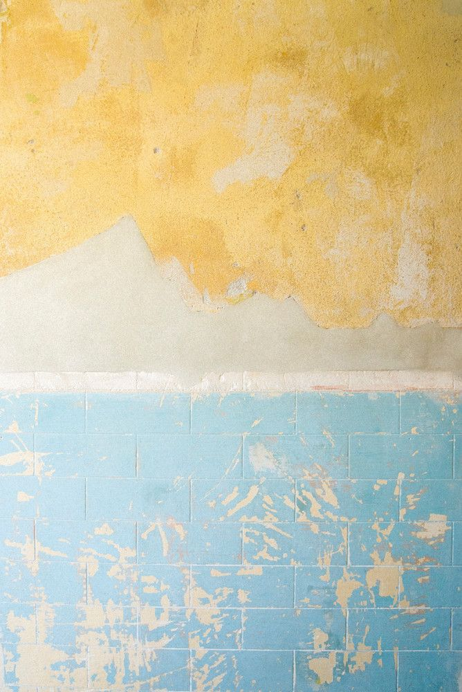 natural colors + textures of a 100-year-old wall