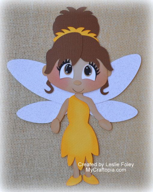 Disney Iridessa Fairies Premade Scrapbooking Embellishment