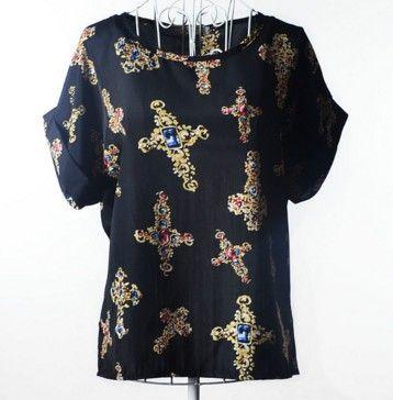Dámská letní trička s potiskem kříže černé – dámská trička + POŠTOVNÉ ZDARMA Na tento produkt se vztahuje nejen zajímavá sleva, ale také poštovné zdarma! Využij této výhodné nabídky a ušetři na poštovném, stejně jako …