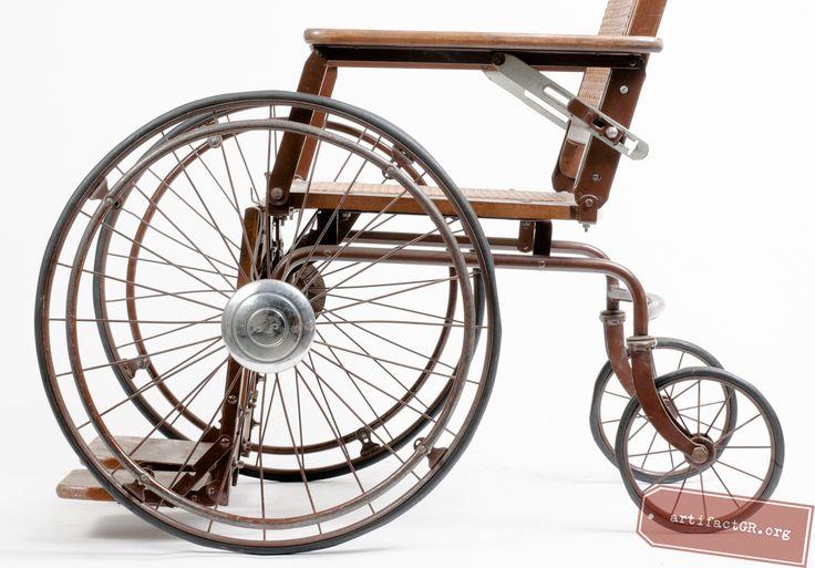giant wheels on wheelchair