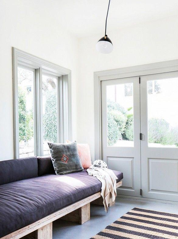 Tour an Interior Designer's Ultra-Cool Malibu Farmhouse via @mydomaine
