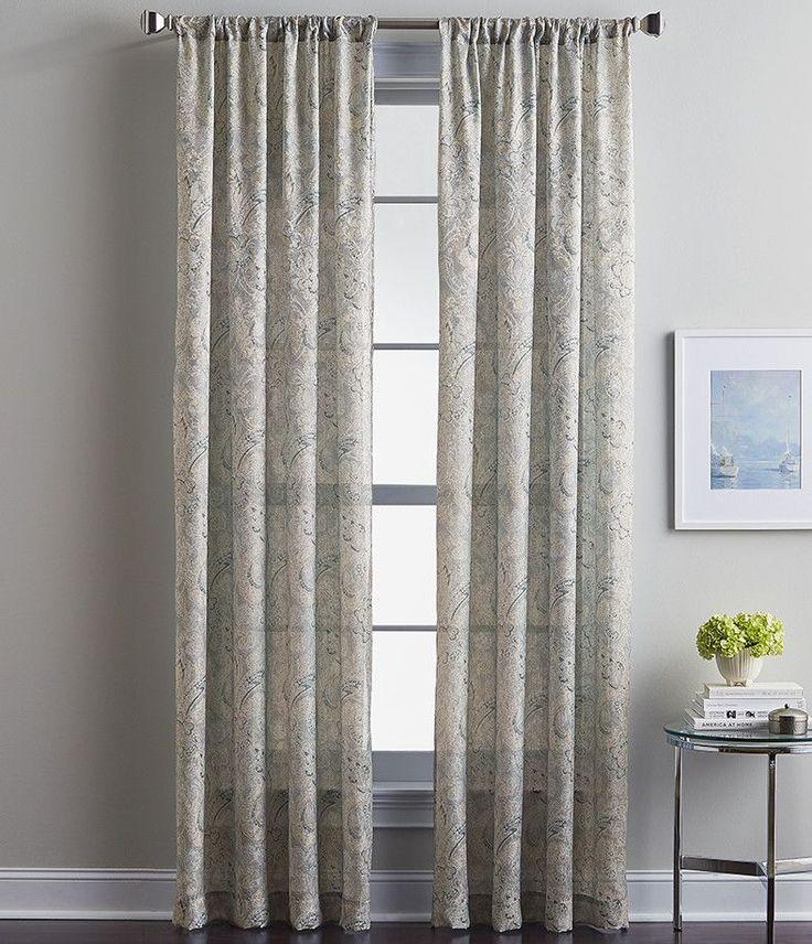 Winston Paisley Curtain Panel