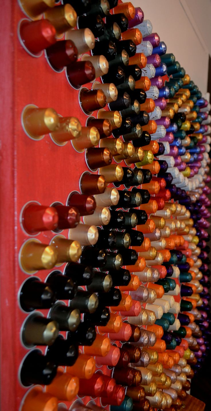 177 best images about nespresso cuadros on pinterest - Capsulas cafe manualidades ...