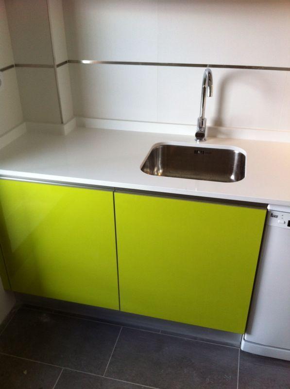 terminacin de otra cocina en la urbanizacin del nuevo tres cantos combinacin de muebles de