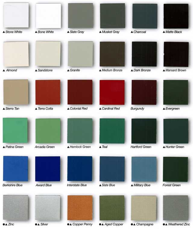 Galerry colored home siding
