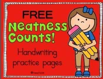 FREE Handwriting practice pages.  ://www.teacherspayteachers.com/Product/FREE-Handwriting-Vowels-Printing-Practice-1964611 ?utm_content=buffer106da&utm_medium=social&utm_source=pinterest.com&utm_campaign=buffer