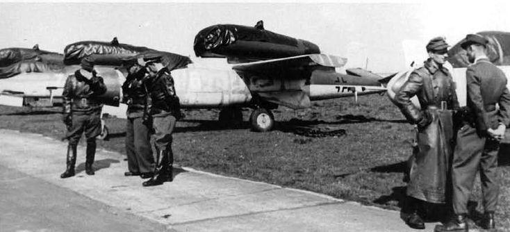 Heinz Künnecke Wolfgang Ludewig JG 1 Leck Heinkel He 162 Karl Emil Demuth