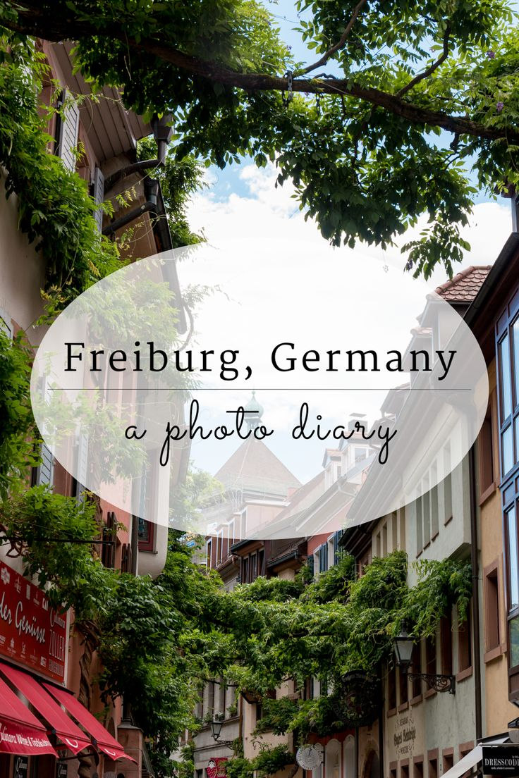 Photo Diary: Freiburg, My Favorite Town in South Germany
