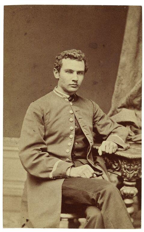 Prus w uniformie studenta
