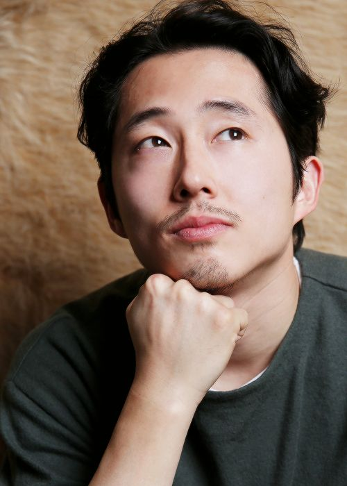 Steven Yeun photographed by Henny Garfunkel at the 2016 Sundance Film Festival