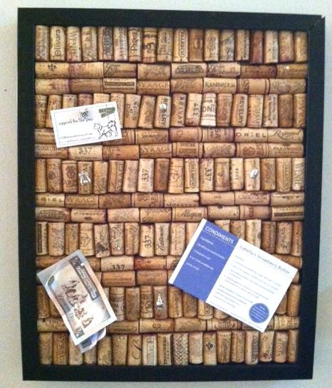 1000 ideas about cork boards on pinterest diy cork for How to make a bulletin board without cork