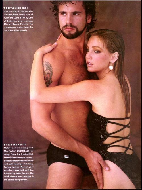 Lorenzo Lamas and Heather Locklear