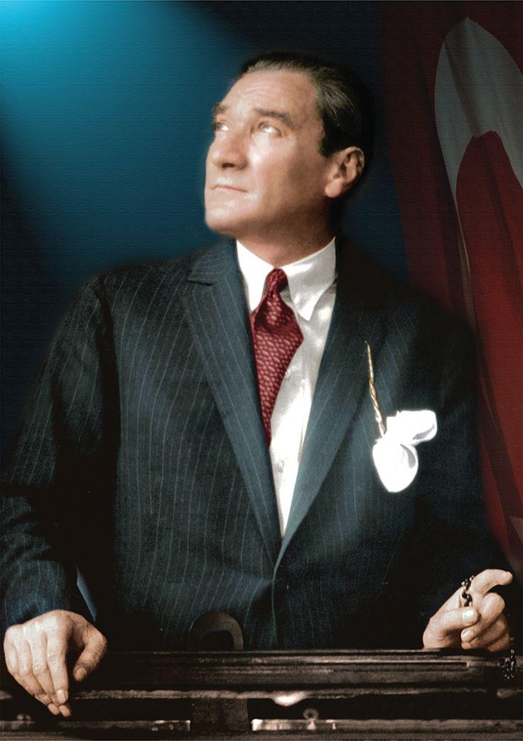 Mustafa Kemal Atatürk Portre Kanvas Tablo