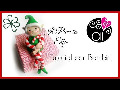 Polymer clay tutorial Modellare un folletto / model an elf - YouTube