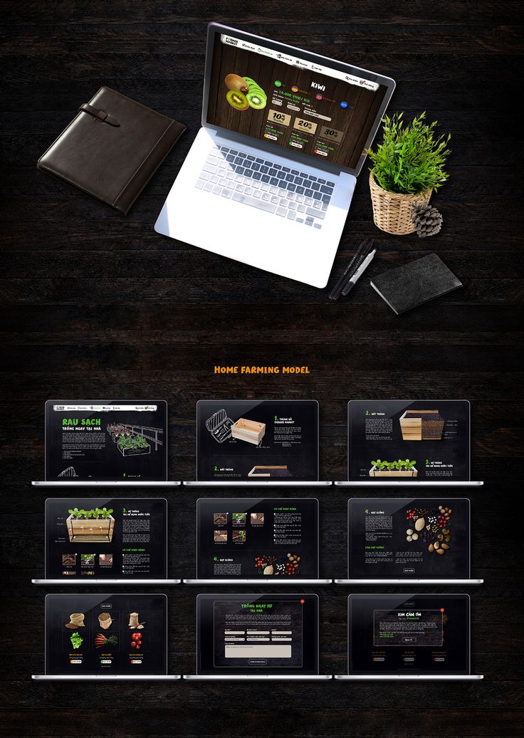 FARMER MARKET | Food Commercial | Web Design on Behance