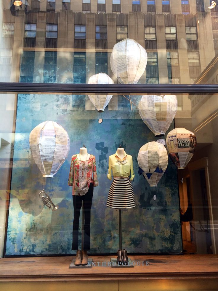 Anthropologie | Rockefeller Centre, NYC | March 2014