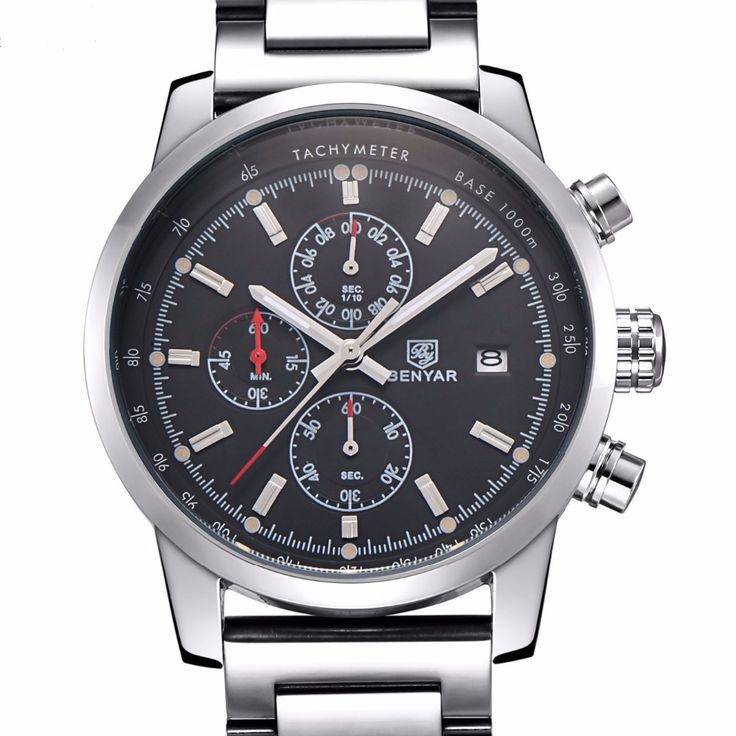 Like and Share if you want this  Brand BENYAR Stainless Steel Waterproof Fashion Chronograph Sports Men's Watch Men Luxury Clock Male Quartz-watch Reloj Hombre     Tag a friend who would love this!     FREE Shipping Worldwide     Buy one here---> https://shoppingafter.com/products/brand-benyar-stainless-steel-waterproof-fashion-chronograph-sports-mens-watch-men-luxury-clock-male-quartz-watch-reloj-hombre/