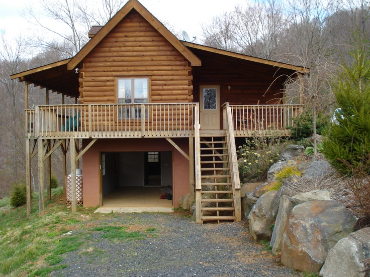 Tryon Log Cabin Series by Blue Ridge Log Cabins #loghome #logcabins #cabins #mountainhome
