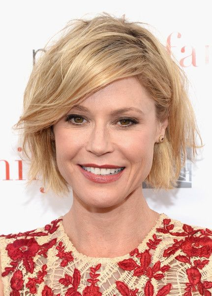 Julie Bowen Messy Cut - Julie Bowen showed her edgier side with this messy bob at the 'Modern Family' ATAS Emmy event.