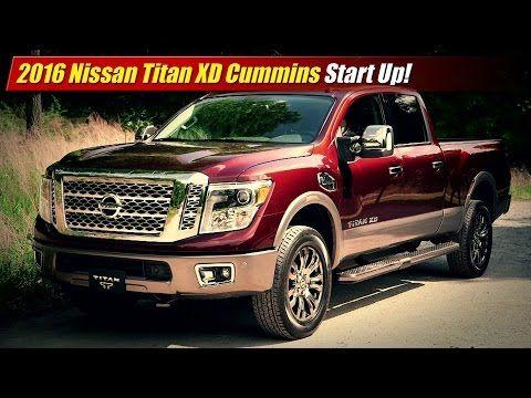 Start Up: 2016 Nissan Titan XD Cummins - TestDriven.TV